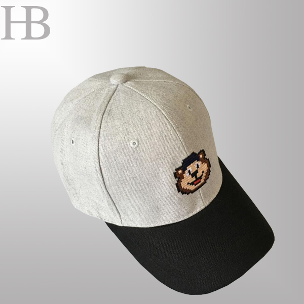 Two Tone Cotton Snapback Cap