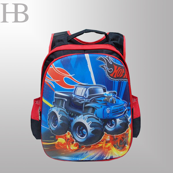 Young school backpack