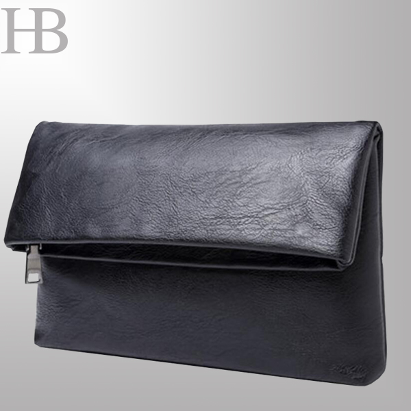 Foldable Ladies Clutch Bag with Magic Clip
